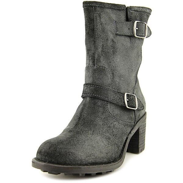Rocket Dog Edmond Women  Round Toe Leather  Mid Calf Boot