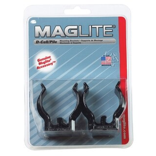 Maglite ASXD026 D-Cell Flashlight Mounting Bracket