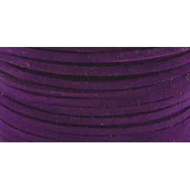 "Royal Purple - Suede Lace .125""X25yd Spool"