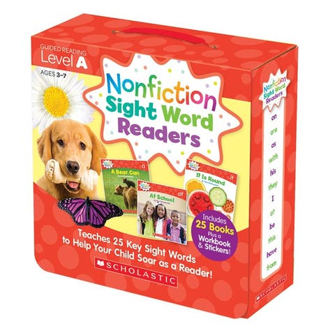 Nonfiction Sight Word Readers Lvl A Parent Pack