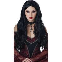 Gothique En Noire Wig, Long Black Wig