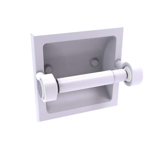 Allied Brass Clearview Collection Recessed Toilet Paper Holder