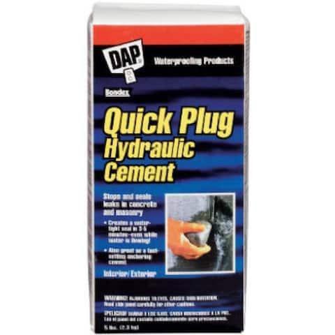 Dap 14086 Quick Plug Hydraulic & Anchoring Cement, 5 Lbs, Gray