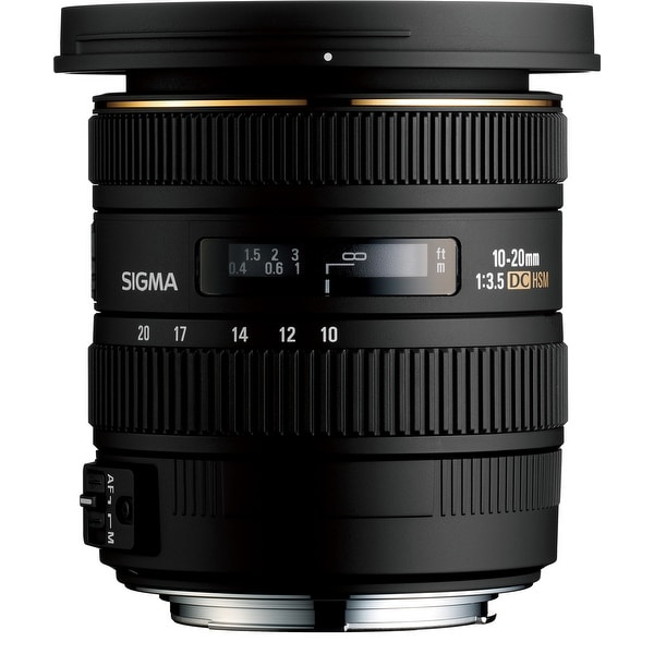 Sigma 10-20mm f/3.5 EX DC HSM Lens For Nikon Cameras - Black