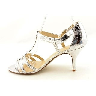 Enzo Angiolini Womens Rutle Open Toe Ankle Strap D-orsay Pumps