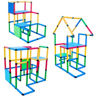 "Funphix Create And Play Life Size Structures - ""Standard Set 495 PCS"" - N/A"