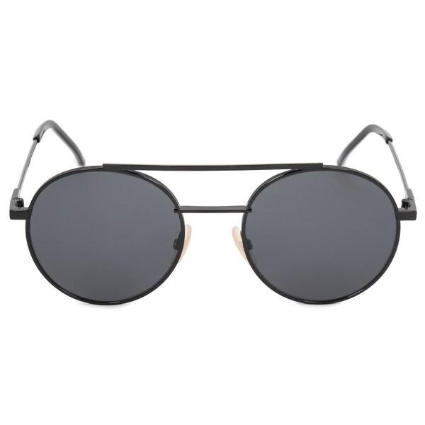 5ed27c94e404 Shop Fendi Air Round Sunglasses FF0221S 807 IR 52 - Free Shipping ...