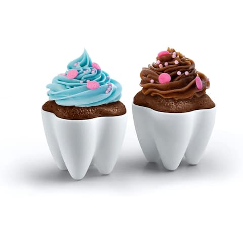 Fred SWEET TOOTH Baking Cups, Set of 4
