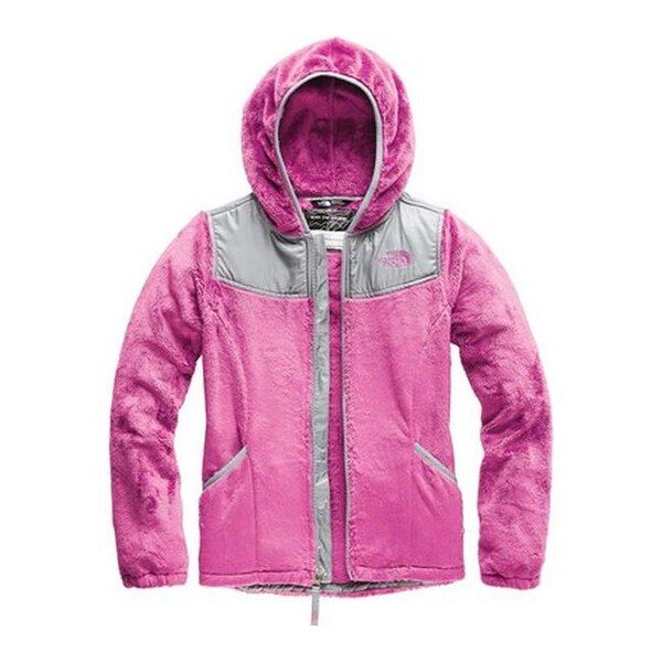 d44bd6960 Shop The North Face Girls' Oso Fleece Hoodie Wisteria Purple - Free ...