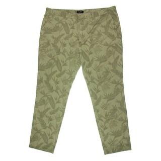 Nautica Mens Twill Printed Casual Pants