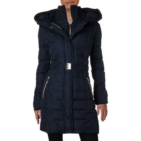 Kensie Womens Puffer Coat Down Winter - L