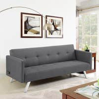 Serta Parker Dream Convertible Sofa with Power Outlets & USB Ports Deals