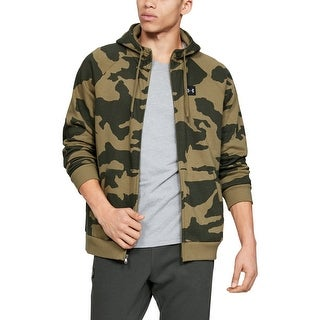 Link to Under Armour Mens Sweater Green Size Small S Camo Print Pockets Hooded Similar Items in Athletic Clothing