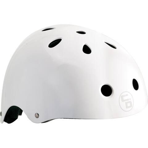 Helmet curb dog shredder wht gloss s/m sizing pads