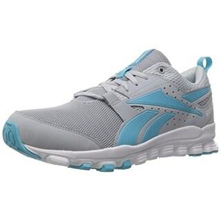 Reebok Womens Hexaffect Sport Mesh Contrast Trim Running Shoes