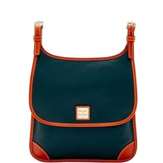 Dooney & Bourke Pebble Grain Saddle Crossbody (Introduced by Dooney & Bourke at $198 in Jun 2016) - Black