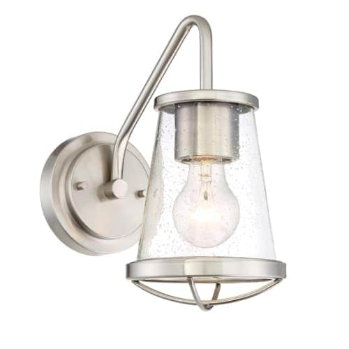 Designers Fountain 87001 Darby 1 Light Bathroom Sconce