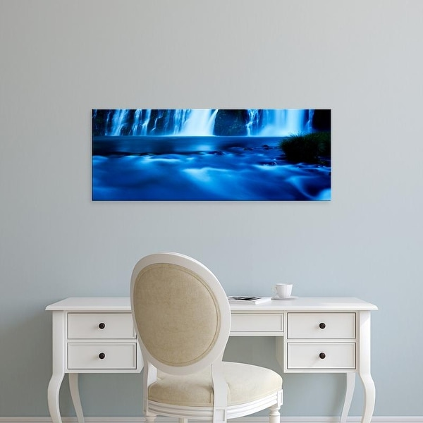 Easy Art Prints Panoramic Images's 'Burney Falls at McArthur