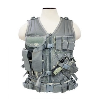 VISM® by NcSTAR® Tactical Vest [MED-2XL] - Digital Camo