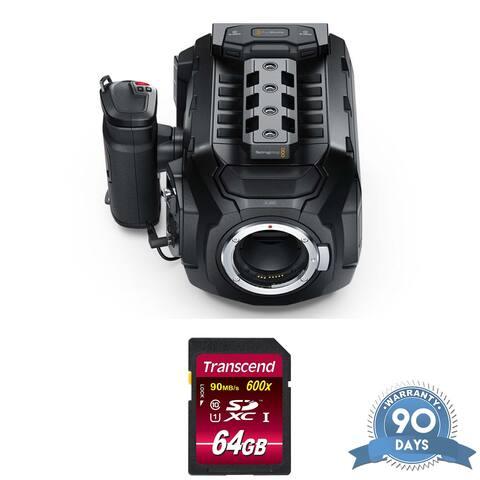 Blackmagic Design URSA Mini 4.6K Camera (EF-Mount) - w/ Memory Card
