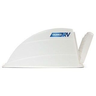 Camco 40433 Roof Vent Cover (White) - White