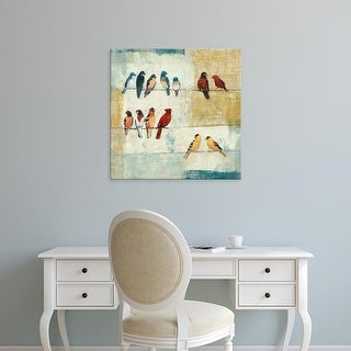 Easy Art Prints Avery Tillmon's 'The Usual Suspects' Premium Canvas Art