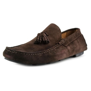 Simone Mariotti Nappina Men Leather Brown Moccasins
