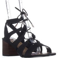 Call It Spring Ereissa Lace-Up Sandals, Black