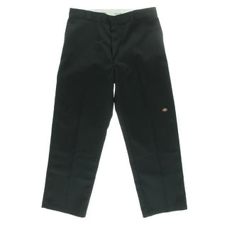 Dickies Mens Twill Loose Fit Straight Leg Pants