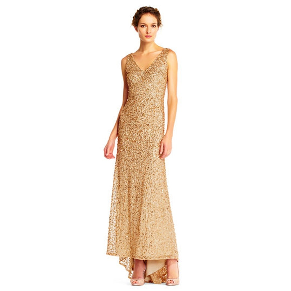 Beaded Gown at Overstock.com