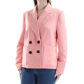 Womens Pink Wear To Work Blazer Jacket Size 10