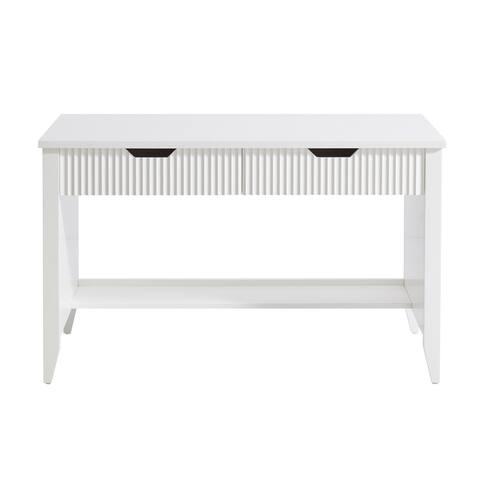 """Chieti 48""""Writing desk in White"""
