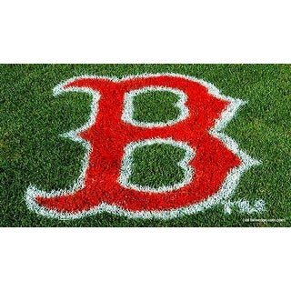 MLB Boston Red Sox Lawn Logo Paint Stencil