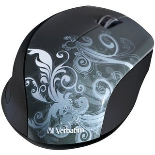 Verbatim VER97786G Verbatim Wireless Optical Design Mouse Graphite 97786