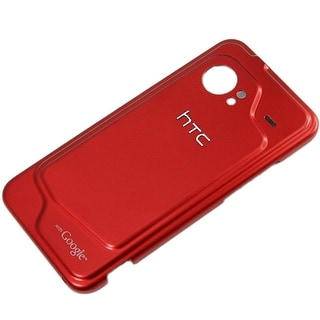 HTC Droid Incredible ADR6300 Standard Battery Door 74H01624-02M - Red (Bulk Pack