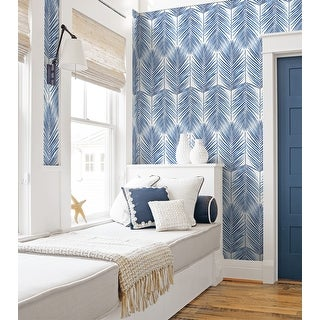 Link to NextWall Paradise Palm Peel and Stick Wallpaper Similar Items in Wall Coverings