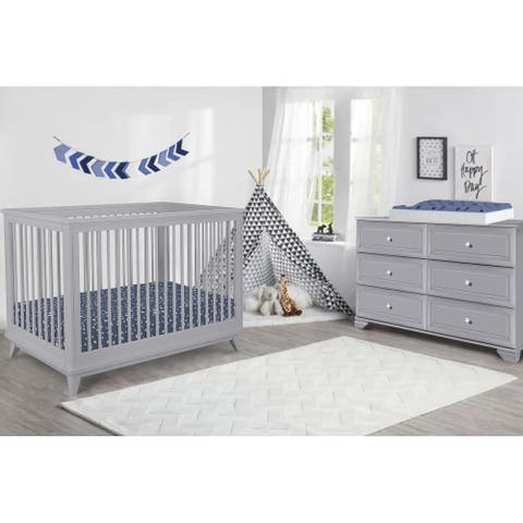Belle Vista 3-in-1 Convertible Crib
