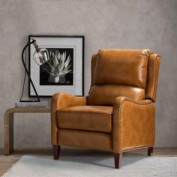 Brigida Genuine Leather Recliner for Living Room. Opens flyout.