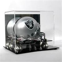 Polynex AD02 Deluxe Acrylic Mini Football Helmet Display Case