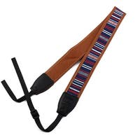 SHETU Authorized Classic Style Digital SLR Camera Shoulder Neck Strap Navy Blue