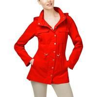 Calvin Klein Womens Anorak Jacket Fall Lightweight