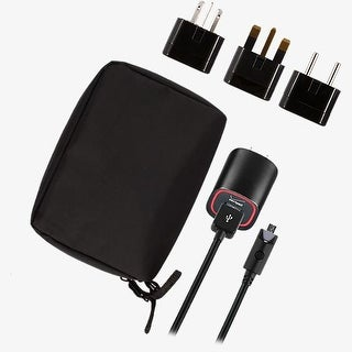 Verizon International Micro USB Travel Charger Kit, US Charger, UK Charger, EURO
