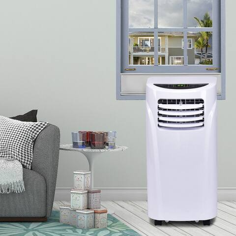 Costway Portable Air Conditioner & Dehumidifier Function Remote w/
