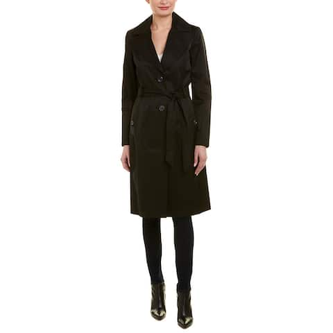 Via Spiga Belted Trench Coat