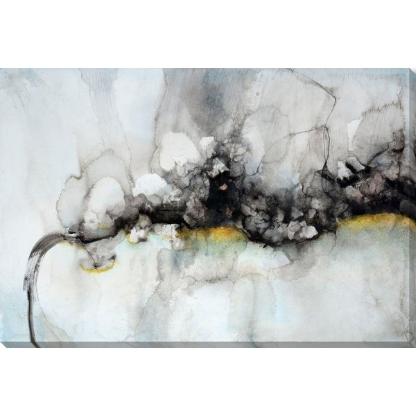 "Blue and Gray Canvas Rectangular Wall Art Decor 32"" x 48"" - N/A"