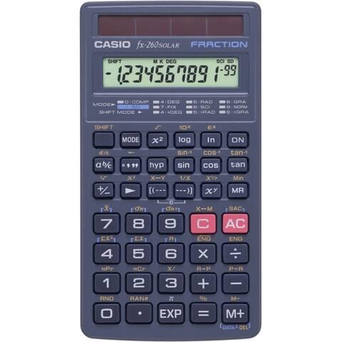 Casio computer co., ltd fx-260solar scientific calculator fx-260slr-pk