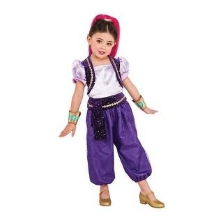 Girls Shimmer and Shine Genie Shimmer Costume