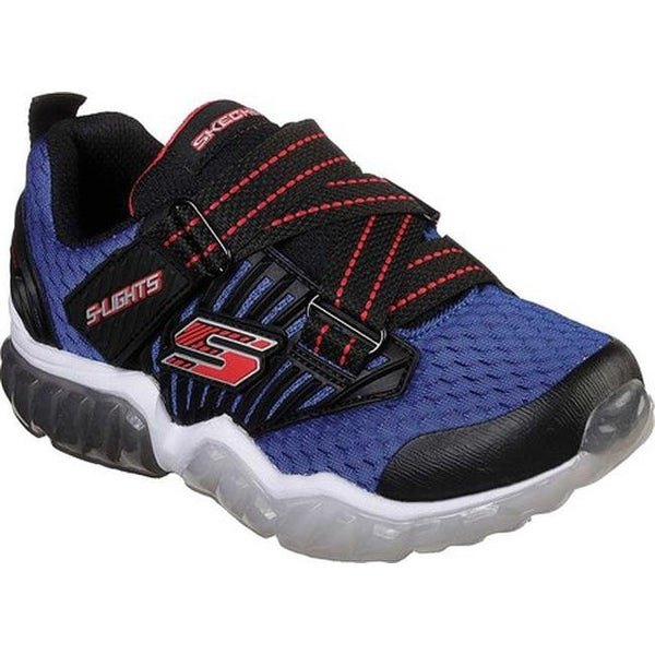 ad22367df5a1 Shop Skechers Boys  S Lights Rapid Flash Z-Strap Royal Black - Free  Shipping Today - Overstock - 25578081