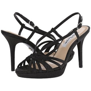 Nina Womens Fenix Open Toe Special Occasion Strappy Sandals