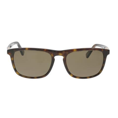 Ermenegildo Zegna EZ0045/S 52M Black/Brown Square Sunglasses - 56-18-145